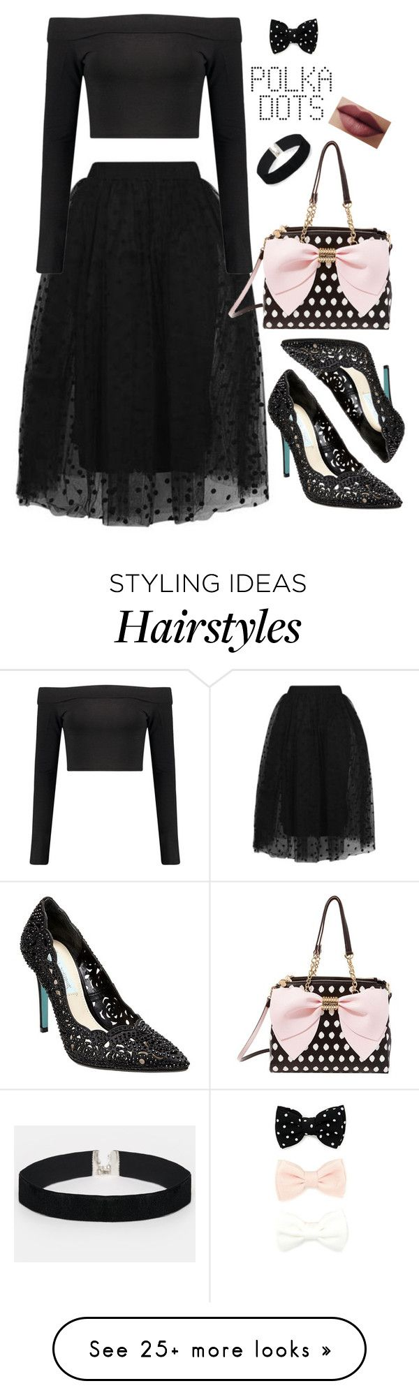 """""""Oh La La"""" by bitty-junkkitty on Polyvore featuring Topshop, Boohoo, Forever 21, ASOS and Betsey Johnson"""