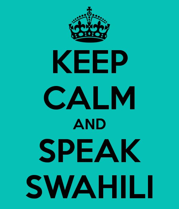 how to learn swahili language