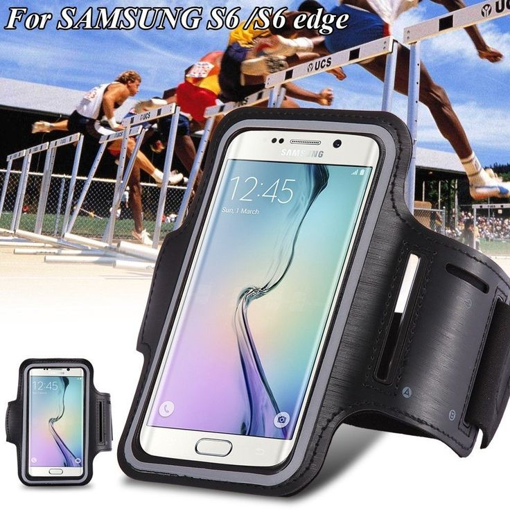 For Samsung Galaxy s3 S4 S5 S6 S6 EDGE 4.2-5 inch Sport Running Armband Bag Cases Waterproof Arm band Phone Cases Cover