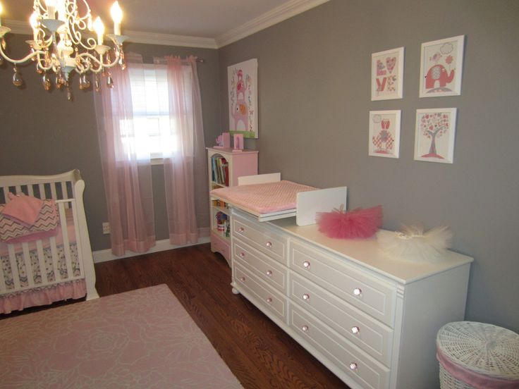 360 Best Images About Pink And Grey Rooms On Pinterest