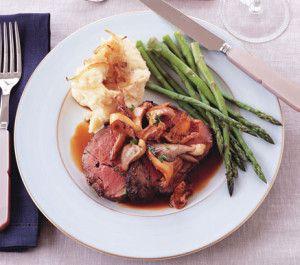 Resep roast beef and mushroom