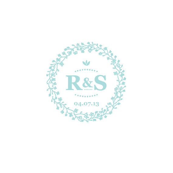 Fave! check on format. Personalized wedding logo / custom monogram for all by MaikoNagao, $15.00