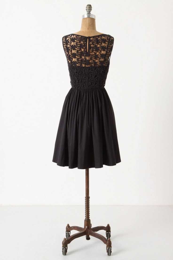 I love this dress!  This is the back...: Black Lace, Cute Black Dresses, Engagement Parties, Sweet Entic, Dresses Anthropologie Com, Anthro Dresses, Little Black Dresses, Entic Dresses, Dresses Back
