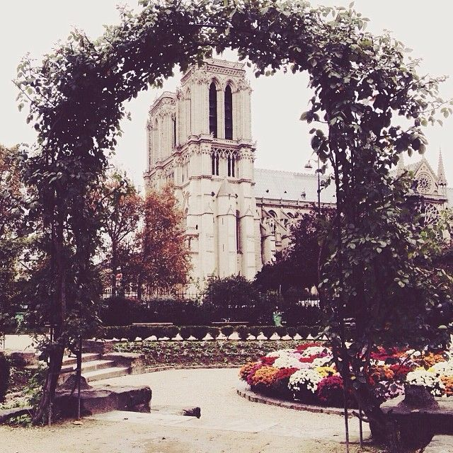 Notre Dame, photo by Carin Olsson