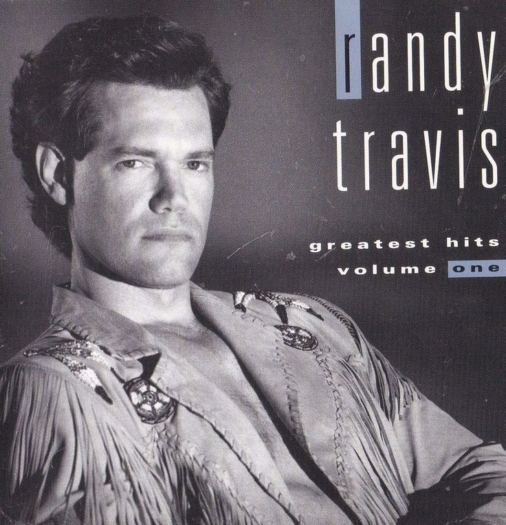Randy Travis Band STICKER Album Cover Art Country Music Decal Man Cave Greatest