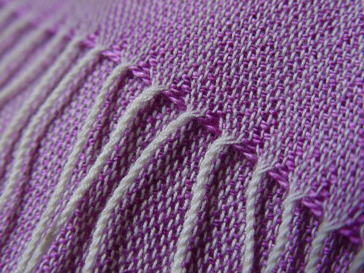 Purple silk scarf #ILLANGO #handwovenscarf #accessories #scarf