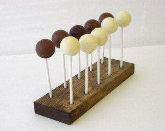 Cake pop Stand  Lollipop Stand blanco Pop pantalla por Gallery360