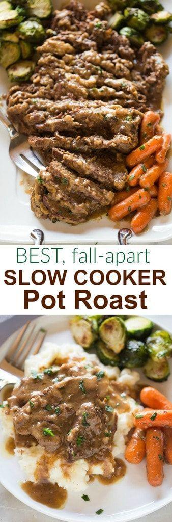 Slow-Cooker Pot Roast #slowcooker