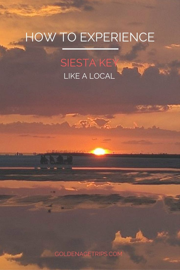The beach, great food & rum are some of the things locals love about Siesta Key, FL. If you're thinking about paying us a visit, keep reading.