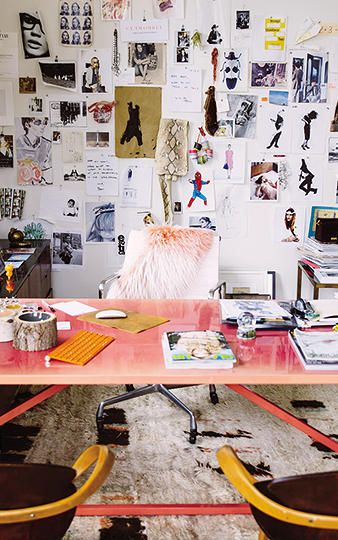 // Inside Jenna Lyons' Office