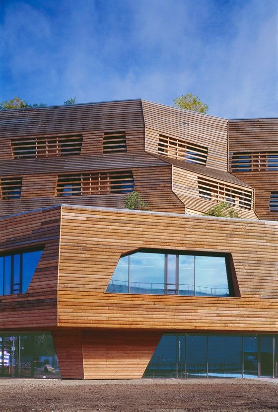 Quite an extraordinary structure...Not sure of I like it or hate it...!  Andreas Heller Architects & Designers-Wälderhaus