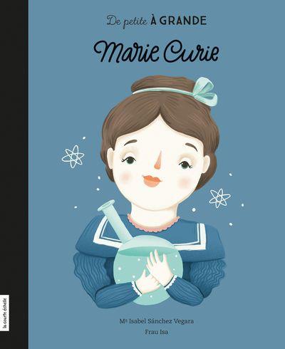 Dès son plus jeune âge, Marie Curie éprouvait une grande soif d'apprendre. Sa persévérance et sa curiosité lui ont permis de réaliser de grandes découvertes et de faire son chemin dans un monde jusque-là réservé aux hommes. Elle est encore aujourd'hui considérée comme l'un des plus importants modèles pour les femmes scientifiques. L'album illustré De petite à grande, Marie Curie retrace le parcours de cette chercheuse hors norme qui a ouvert la voie à de nombreuses femmes après elle.