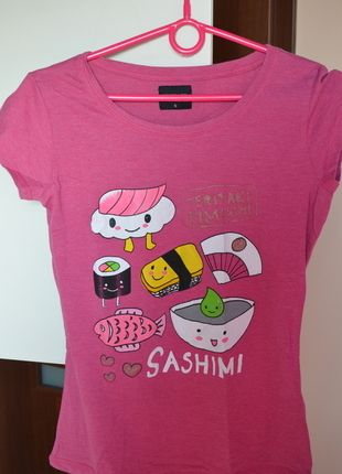 Kup mój przedmiot na #Vinted http://www.vinted.pl/kobiety/koszulki-z-krotkim-rekawem-t-shirty/9870937-bluzeczka-rozowa-reserved-sashimi