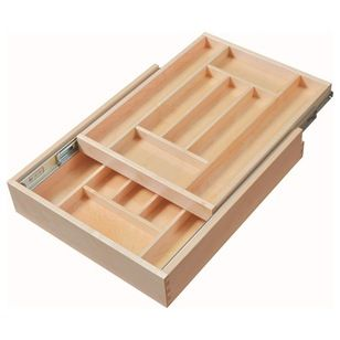 Contemporary Kitchen Drawer Organizers by HomeProShops