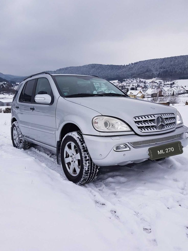Mercedes Benz ML 270 CDI TÜV bis 07/19