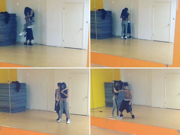 selena gomez new butt photos dance studio mar 11 pic | WATCH: Justin Bieber and Selena Gomez Get Hot and Heavy On the Dance ...