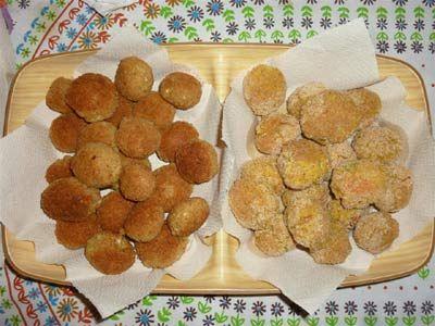 Polpettine vegetali: lenticchie rosse, tofu e spezie