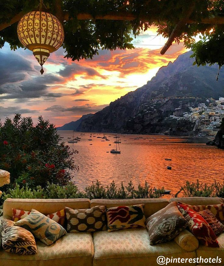 @PinterestHotels are bringing together the best hotels of Pinterest! Follow to find the best inspiration for your next holiday experience. *Villa Treville in Positano, Italy*