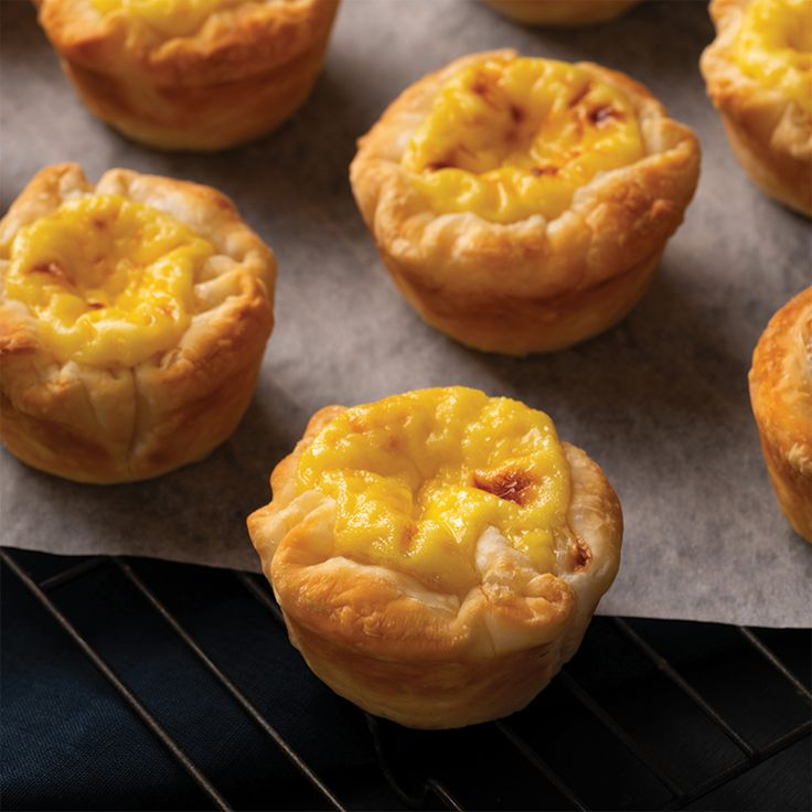 Dim sum custard tarts marions kitchen recipe