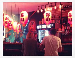 It's always Sake Time at the Green Parrot in Durban. Click to get the full Restaurant Review.