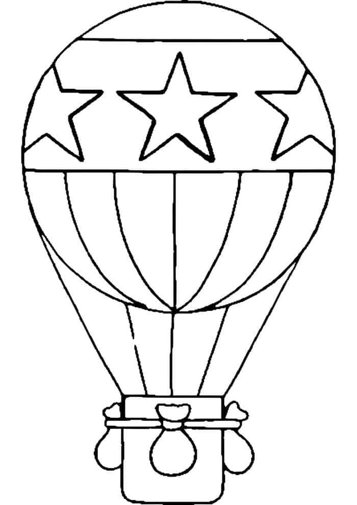 Caillou Pictures With Balloon Coloring Pages Hot Air Ballon Drawing Hot Air Balloon Drawing Coloring Pages