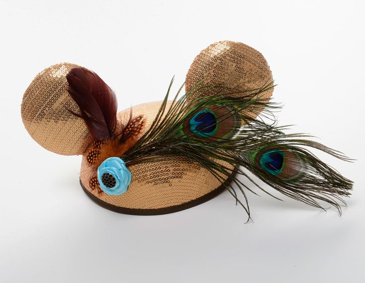 Sequined Peacock Feather Mickey Ear Hat. Limited Release Disney Couture Ear Hats Kick off the 'Year of the Ear' at Disney Parks in 2013.