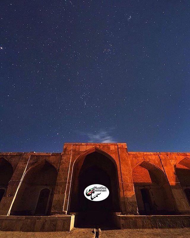 #MustSeeIran  Qasr-e Bahram Caravanserai at night, Garmsar ,Semnan , Iran, 2013. كاروانسراي قصر بهرام درشب ، پارك ملي كوير ايران ، استان سمنان ، شهرستان گرمسار  تصوير زيبا از هموطن گرامي  @hsn_farahani  لطفا تصاوير زيباي خودتون رو از استان #سمنان با #MustSeeSemnan و #MustSeeIran به ما و دنيا نشان دهيد. . @MustSeeSemnan .  #MustSeeIran ✌✌️ #ماباهميم