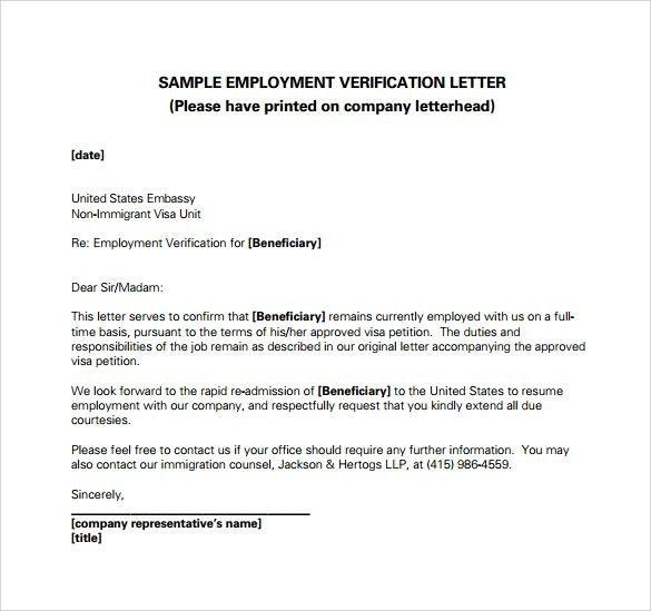 Employment Letter For Visa Http://kays.makehauk.co