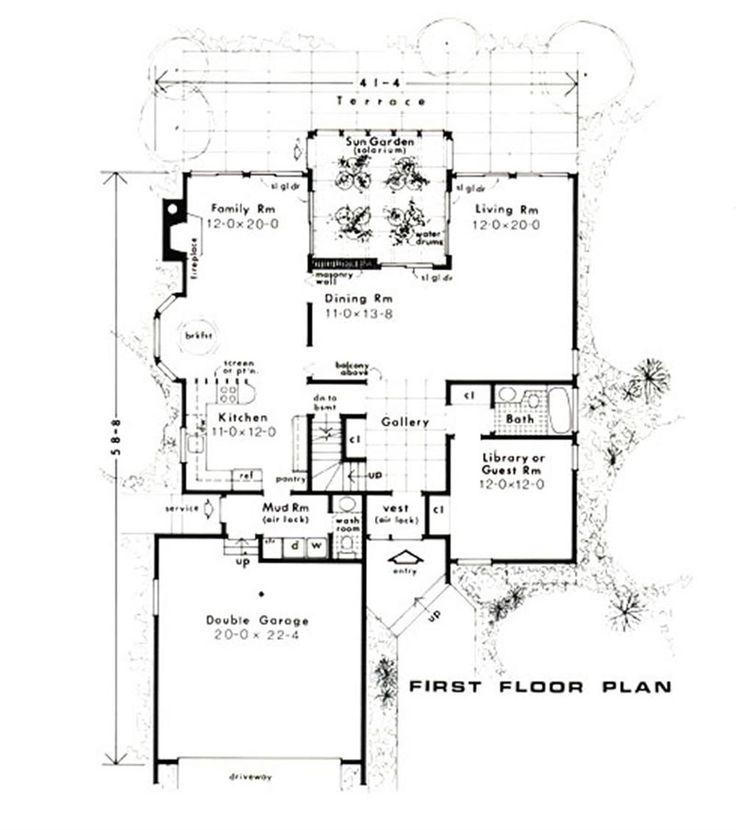 Las 25 mejores ideas sobre planos de casas de madera en - Planos de casas de madera gratis ...