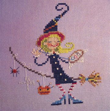 This is the new freebie for Brooke's Books Interactive Yahoo! Group - The Stitchy Witchy.
