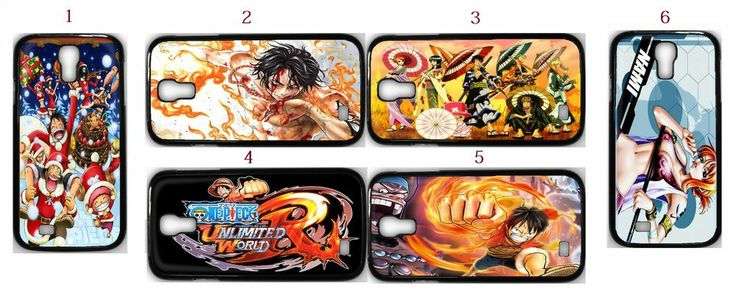 One Piece Anime Manga Samsung Galaxy S4 Fitted Case/Skin Case Black (1Pcs)