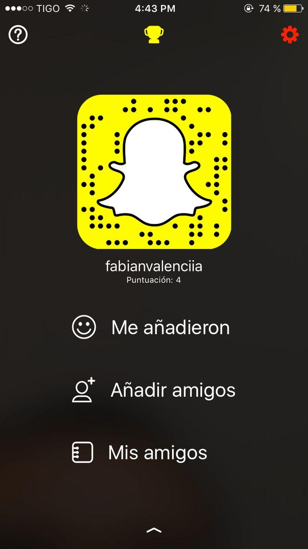Guía para usar Snapchat