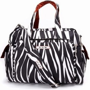 BEST diaper bag if you have multiple little ones...or to use as an overnight bag for yourself!  Comes in other prints.