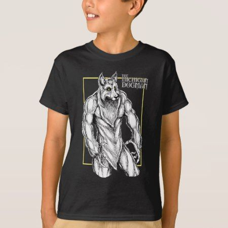 The Michigan Dogman T-Shirt - tap, personalize, buy right now!