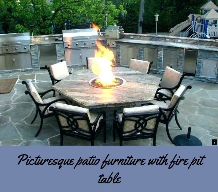 Large Breathtaking Simple Outside Propane Fire Pits Design With