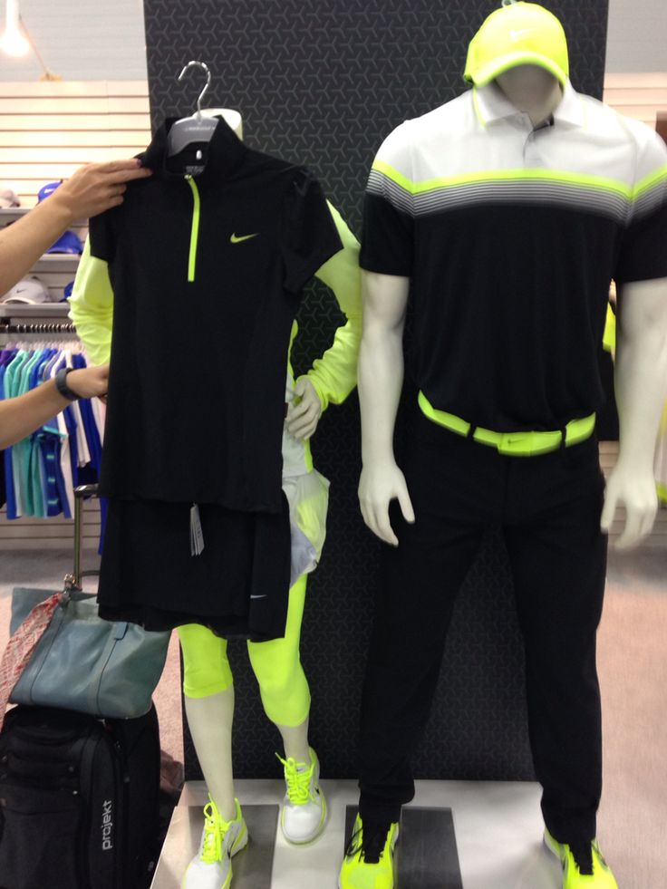 Nike golf outfits for men