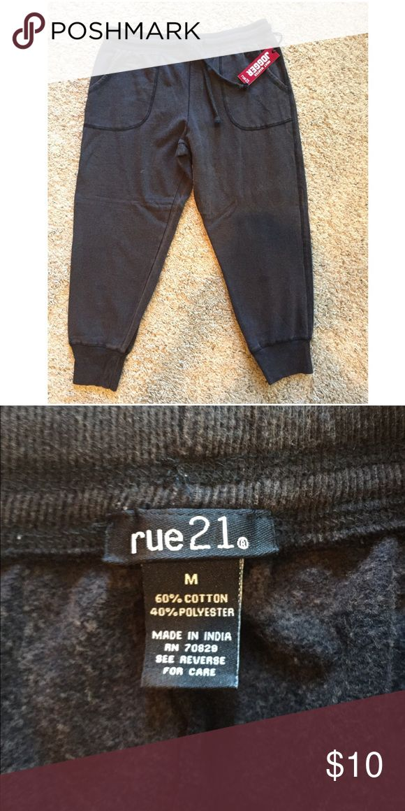 NWT! Brown Joggers NWT! Brown Joggers Rue 21 Pants Track Pants & Joggers