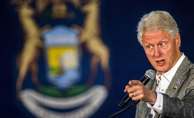 10-03-2016   Former president Bill Clinton appeared to take a shot at President Obama's signature health care legislation during a campaign stop in Michigan on Monday, calling it a crazy system that doesn't make any sense.