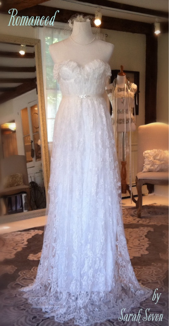 Romanced Wedding Dress By Sarah Seven Everthine Bridal Boutique A Shop Serving Connecticut Rhode Island New York Boston And Beyond