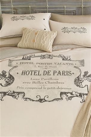 Buy Script Paris Print Bed Set From The Next Uk Online