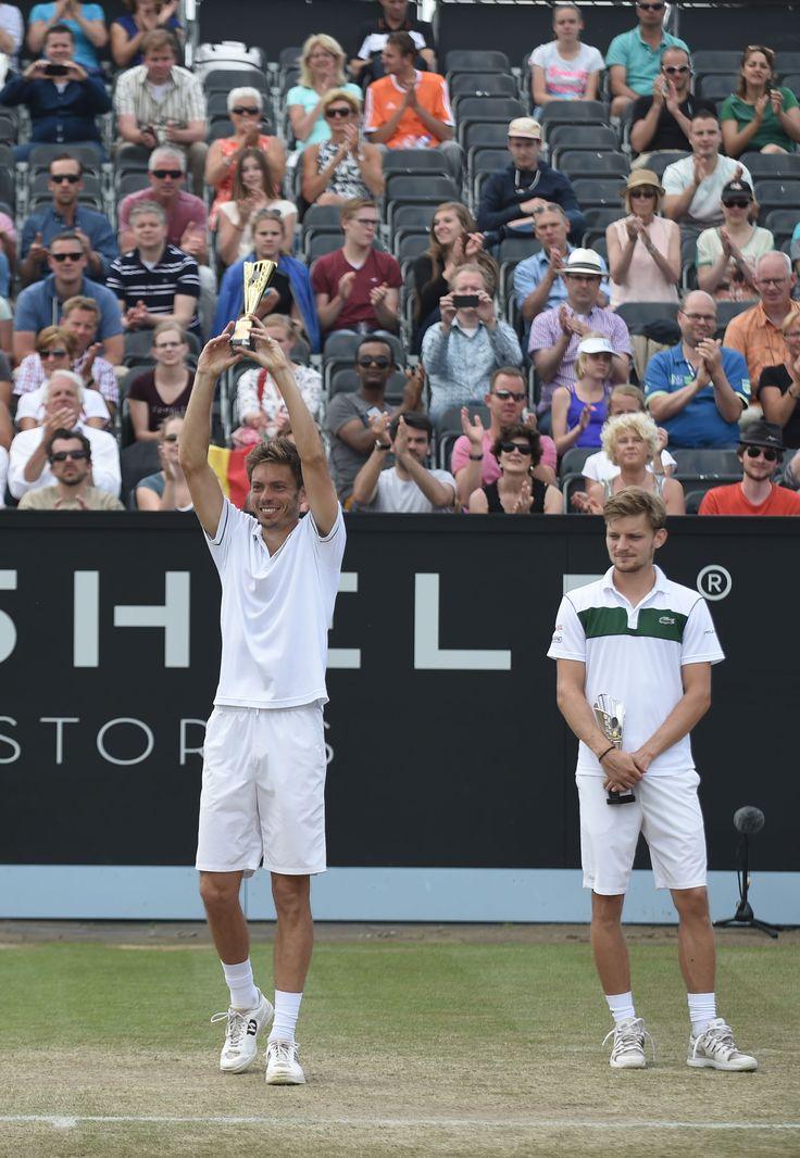 De Fransman Nicolas Mahut zegeviert voor de tweede keer op Topshelf Open. Mahut ook wel bekend van zijn marathonpartij op Wimbledon (70-68 in de 5e set red.) laat David Goffin achter zin in de finale met 7-6 6-1.