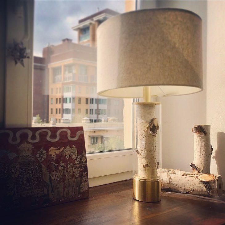 "8 Likes, 1 Comments - Bereza lamp (@berezalamp) on Instagram: ""Настольная лампа, полированная латунь. Table lamp, polished brass finish. #светильник…"""