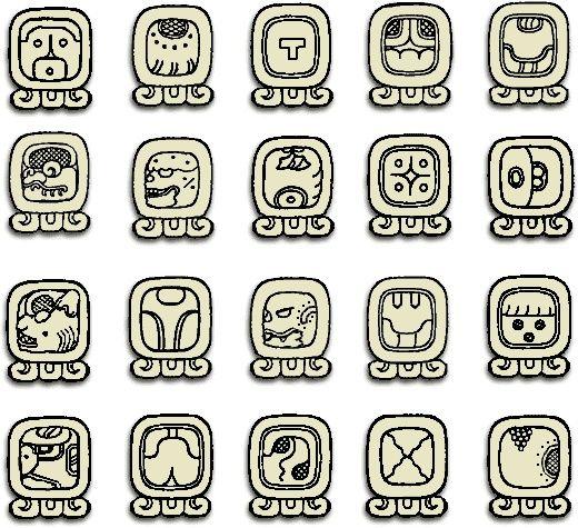 mayan symbol carving - Google Search