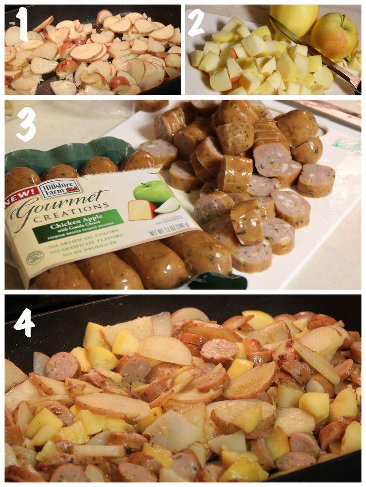 Chicken Apple Sausage Prep