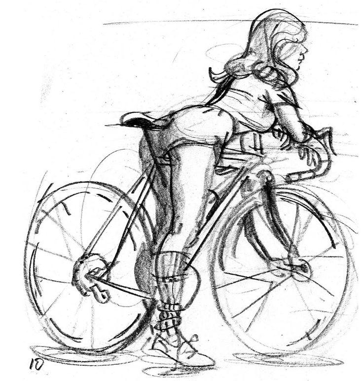 Ziua biciclistului in pijamale