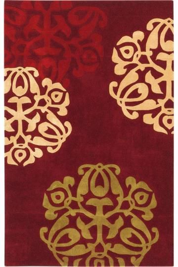 Chadwick Rug at Home Decorators Collection. Like this one, and it's not as pricey. But not sure if it's too much red in the room.