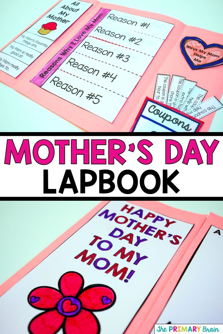 mothers day flip book - 736×1103