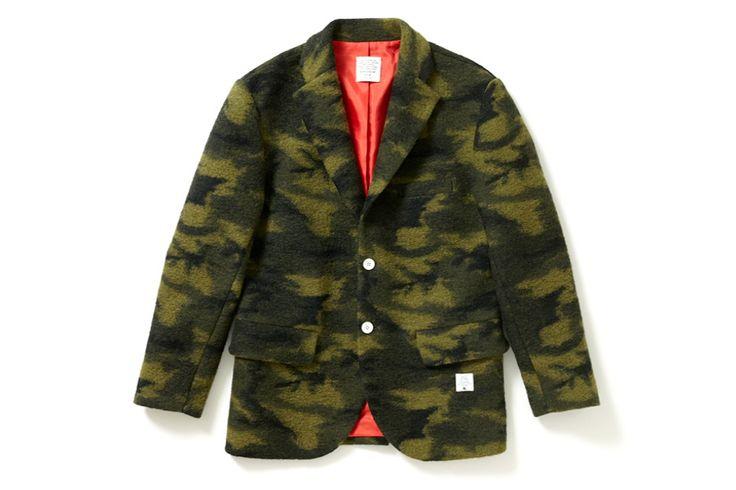 Applebum Wool Camo Tailored Jacket
