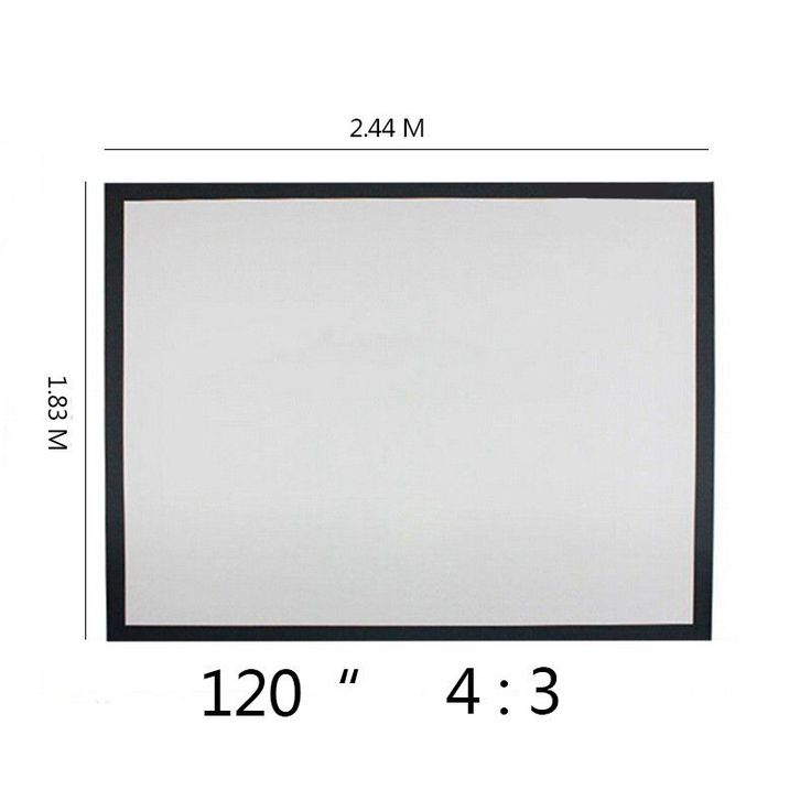 Free Shipping Top quality 120 inch 4:3 Wall Mounted Matt Canvas Folding Outdoor For LED LCD HD Movie Portable projector screen