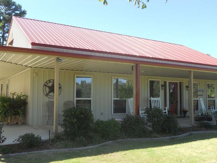 Unique Metal Building Home W Wrap Around Porch 9 Hq
